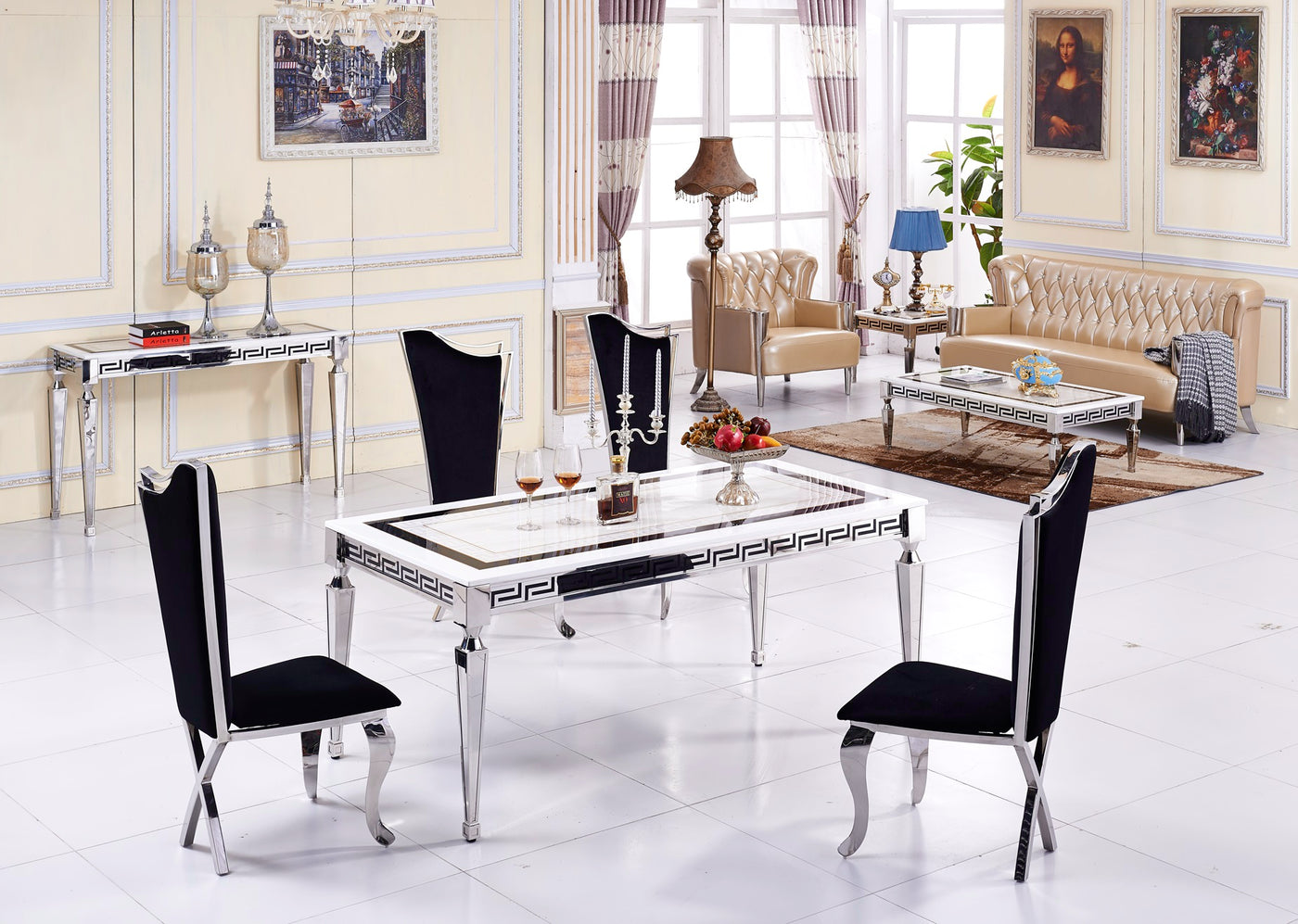 Terrific Corinth Dining Table Download Free Architecture Designs Terstmadebymaigaardcom
