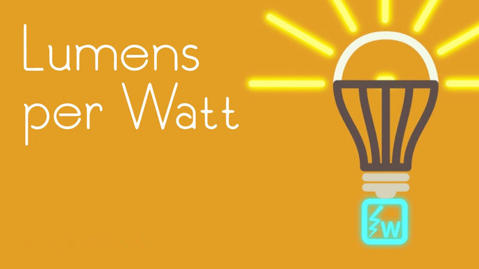 LED: Purchase Lumens not Watt