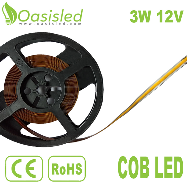Flexible Long Strip DC COB LED Light Source FPCB250-11-3-12