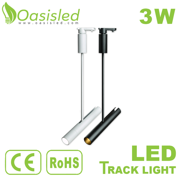 Art Industrial LED Track Lighting 3W 110V 220V TLWL260-3W