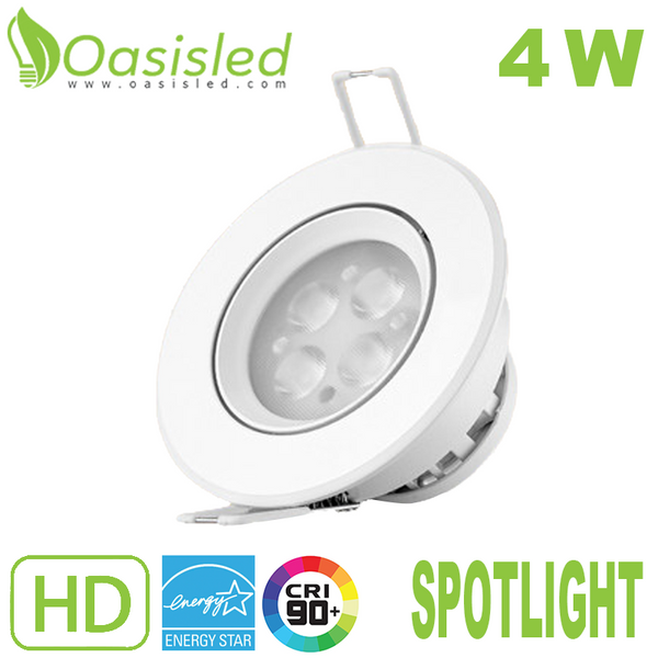 High Efficiency LED Spotlight 4W 110V-220V SLSL90-4W