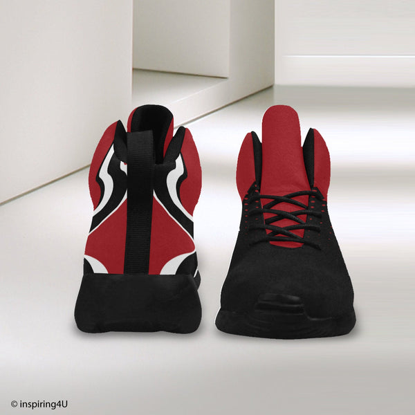 Basketball Shoes. High Top Athletic Shoes. Men's Fashion shoes. Young look and cool sport shoes. Men's Unique Shoes. (#57502)