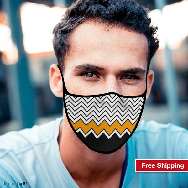 Breathable Washable Reusable Soft polyester Face mask, Travel Handmade Face Mask. Unisex Recycled face mask. Nose mouth Colorful fabric mask