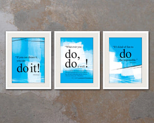 inspirational motivational quotes posters tagged walt disney