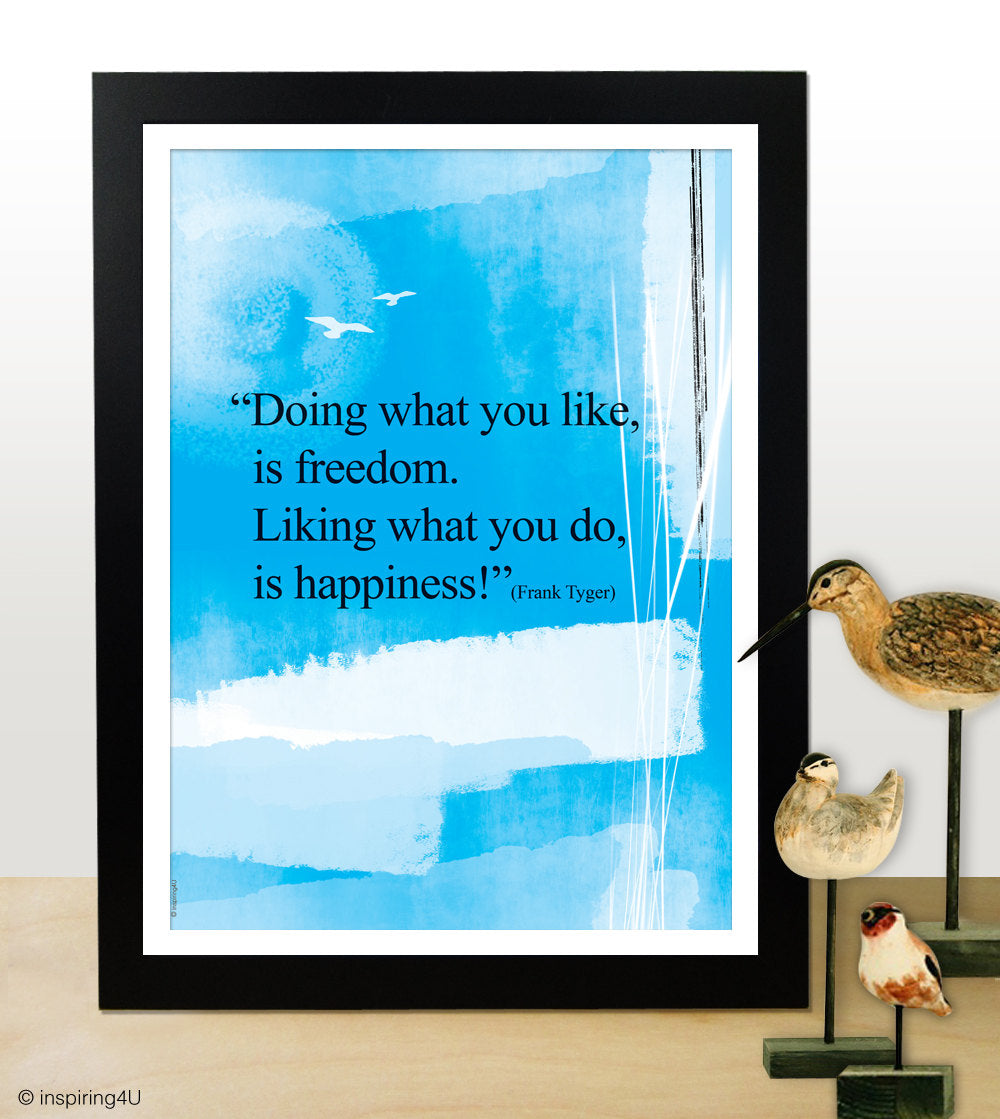 Positive thinking. Inspirational poster. Typography design. Inspirational poster. Office wall decor design. Graduation gift (PO-030).