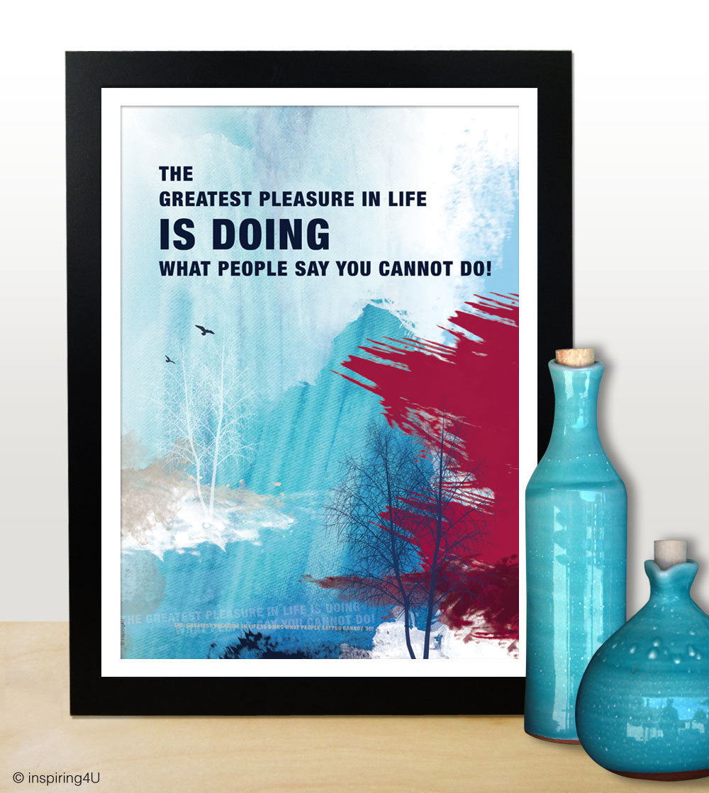 Inspirational poster. Inspiring words. Office design art poster. Motivational poster. Office wall decor. Typography design (PO-002)