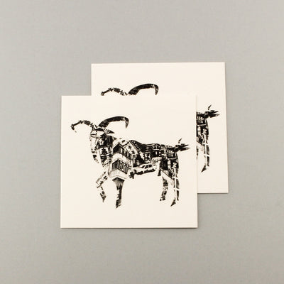 Chinese Zodiacs Goat Pair