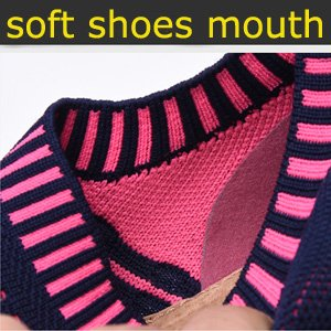 soft shoes mouth