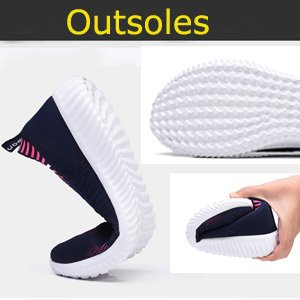 Soft-cushion shoe outsole