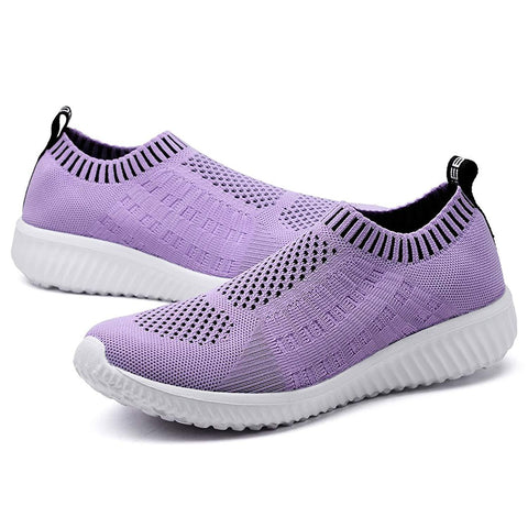 Tiosebon Slip-on Sneakers purple