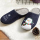 Konhill Snowman Women Home Slippers
