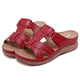 Women's Hook Loop Wedges Sandals-SIKETU