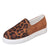 Tiosebon Women's Leopard Loafers