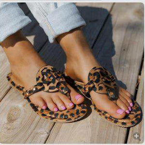 Tiosebon Fashion Leopard Slippers