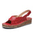 Women's Peep Toe Velcro Sandals