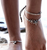 Cute marine element anklet