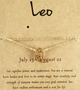 Constellation Anklet