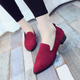 Pointed toe women's loafers