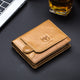 BULLCAPTAIN Men RFID Vintage Wallet