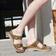 Women's Comfortable Wedge Sandals-SIKETU