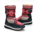 Konhill Women Plush Fur Snow Boots