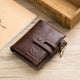 BULLCAPTAIN Genuine Leather RFID Anti-scanning Wallet