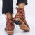 Konhill Fringed Casual Booties