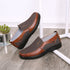 Large Size Men Slip On Oxfords