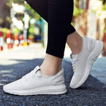 Knitted Sneakers-FL white