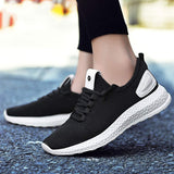 Knitted Sneakers-FL black