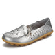 Women's Leather Loafers - Hollow(1)