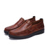 Microfiber Leather Oxfords Shoes-POXT
