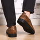 Man-made Leather Oxfords Shoes-POXT