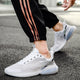 Men's Knitted Casual Lace-up Shoes