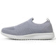 TIOSEBON Women's Casual Walking Shoes Gray