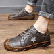 Men's Cowhide Hand Stitching Loafers