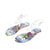 Tiosebon Women's Toe Transparent Strap Sandals