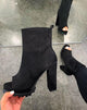 Tiosebon New Fish Mouth High Heel Boots