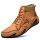 Men's Handmade Slip Resistant Leather Ankle Boots