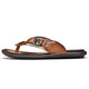 Tiosebon Men's Clip Toe Slippers
