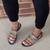 Tiosebon Sequined Transparent Sandals