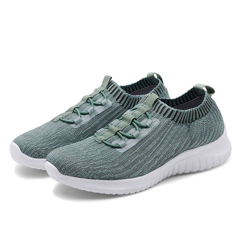 Knitted Sneakers-BL-green