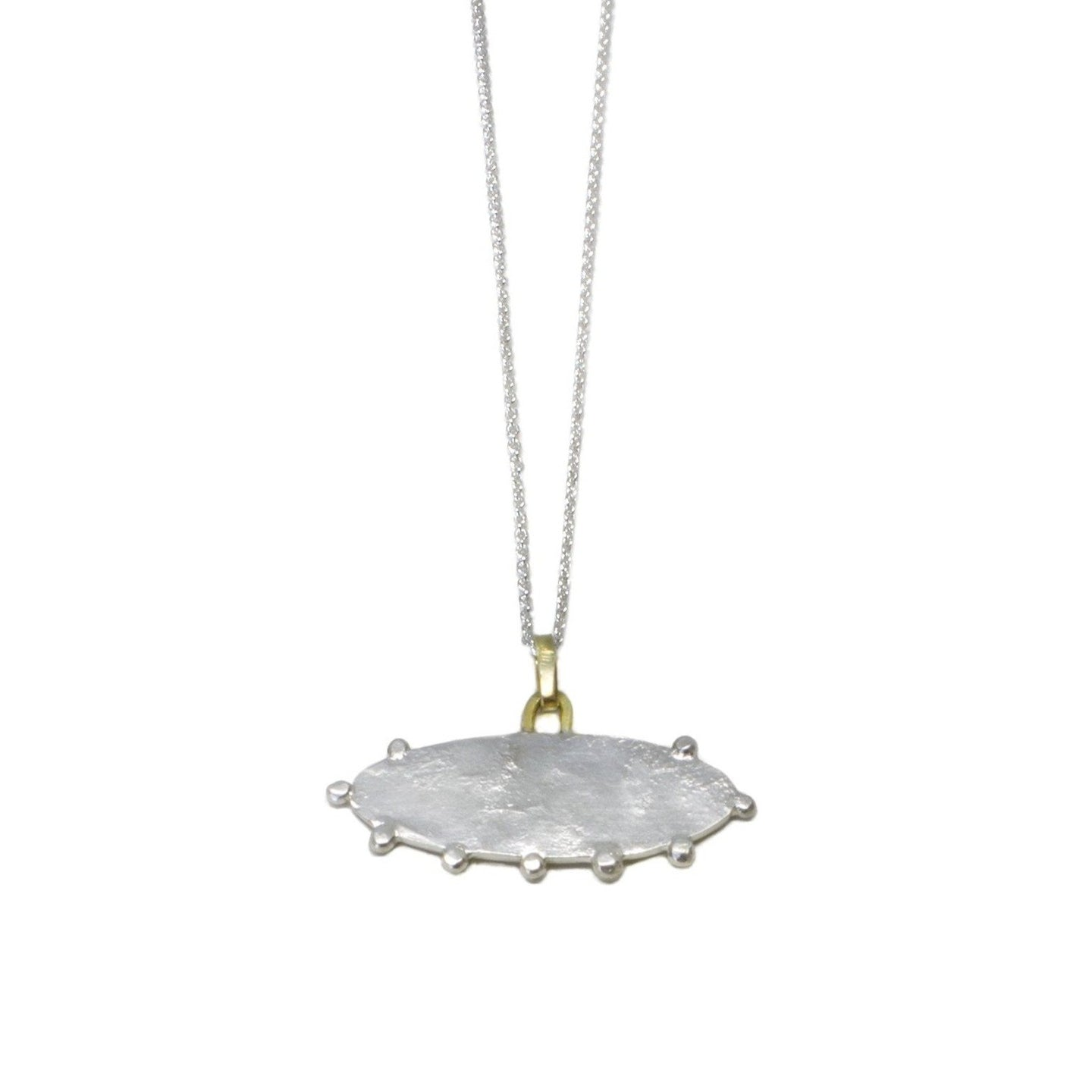 Cloud Pendant Sterling with 18kt details