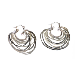 Small Crescent Hoop Earrings