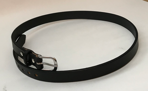 "Durable 1"" Cowhide Belt Cut from a Single Piece of Strong Leather - FREE SHIPPING - Made in the USA!"