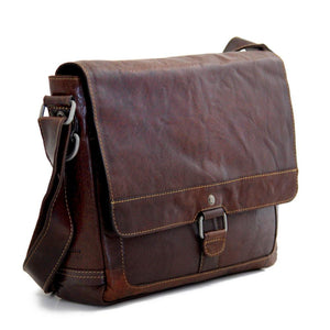 Superior Water Buffalo Small Messenger Bag - Lifetime Manufacturer's Warranty - FREE SHIPPING