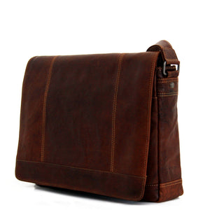 Exquisite Buffalo Leather Full-Size Messenger Bag - Lifetime Manufacturer's Warranty - FREE SHIPPING