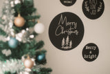 Christmas Wall Decals - set of 4