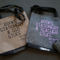 Tote Bag - For your teacher