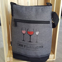 Wine Cooler - It's wine o'f**king clock